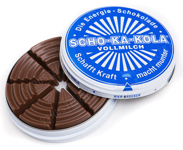 Milk Chocolate Scho-Ka-Kola!