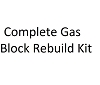 Complete Gas Block Rebuild Kit, Clamp or Set Screw